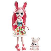 Энчантималс Девочки животные / Enchantimals Doll and Animal Pack - Bree Bunny and Twist Bunny, фото 1