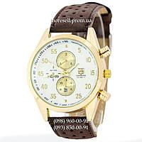 Часы Tag Heuer Carrera Calibre 17 Brown-Gold-White Quartz