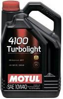 Масло моторное Motul 4100 TURBOLIGHT SAE 10W40 (4L) 387607 100355