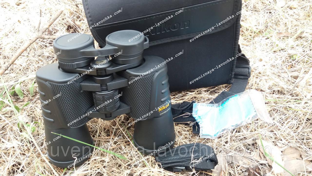 Бинокль 20x50 Nikon фирменный