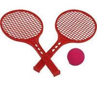 Тенис набір две ракетки+мяч маленькая 0373