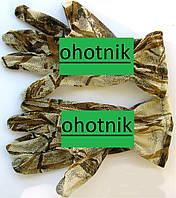Маскировочные перчатки из сетки. Расцветка Камыш р. М.