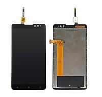 Дисплей для Lenovo S8/S898T + touch Black