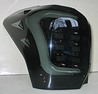 Subaru Forester SJ оптика задняя альтернативная фонари тюнинг диодные черные / LED