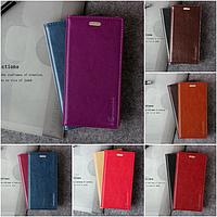 """Huawei G9 Plus / Maimang 5 оригинальный кожаный чехол кошелёк из натуральной телячьей кожи на телефон """"CLASIC"""""""