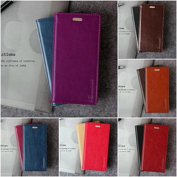 """Huawei P8 MAX оригинальный кожаный чехол кошелёк из натуральной телячьей кожи на телефон """"CLASIC"""""""