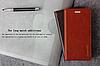 """Huawei MATE 8 оригинальный кожаный чехол кошелёк из натуральной телячьей кожи на телефон """"CLASIC"""", фото 5"""