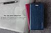 """Huawei MATE 8 оригинальный кожаный чехол кошелёк из натуральной телячьей кожи на телефон """"CLASIC"""", фото 6"""