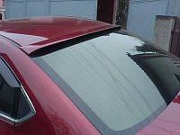 (ABS пластик) Спойлер на стекло Мазда 6 GH (08-12), Mazda
