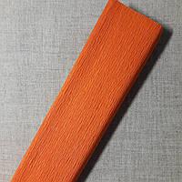 Гофрированная бумага оранжевая Польша