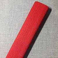 Гофрированная бумага красная Польша