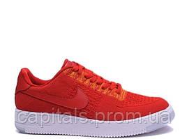 "Мужские кроссовки Nike Air Force 1 Ultra Flyknit Low ""University Red"""