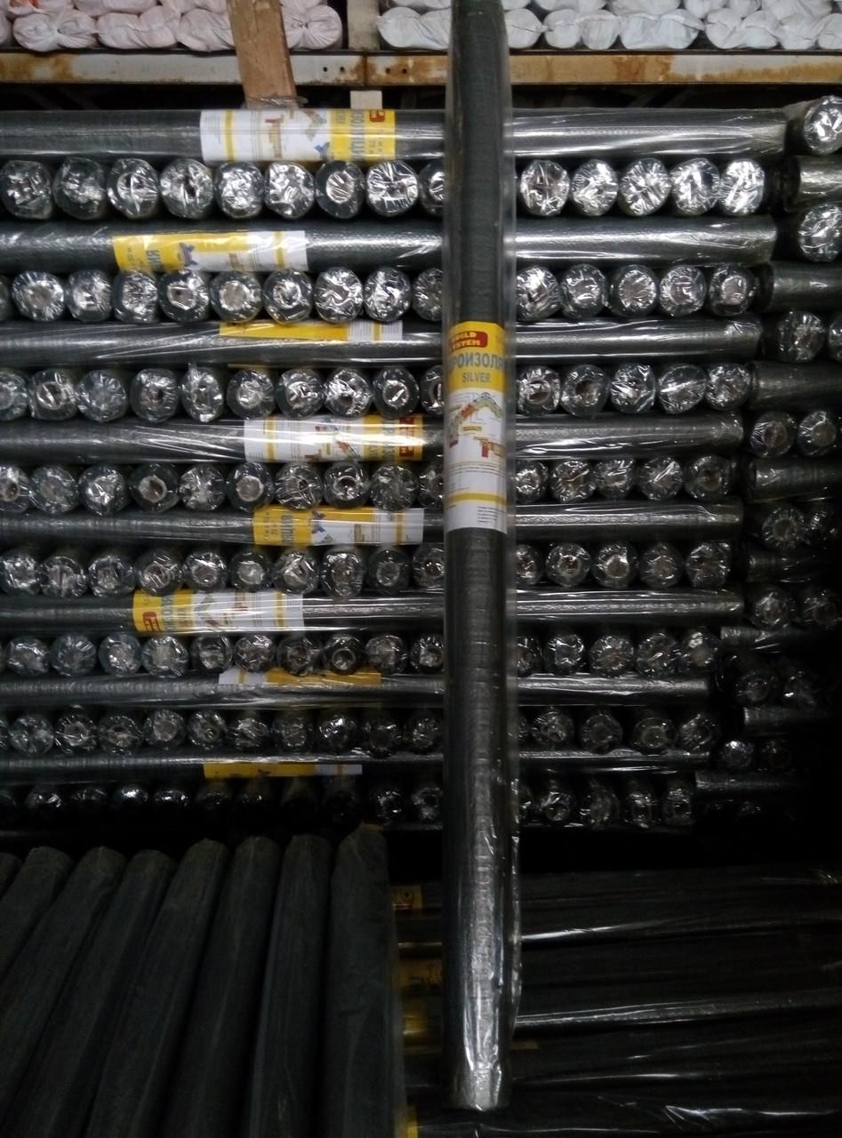 Гидробарьер серая пленка для кровли 50х1,3 м