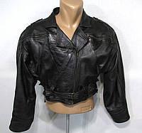 Куртка косуха черная, 1, ПОГ- 56 см (~XL), Отл сост!