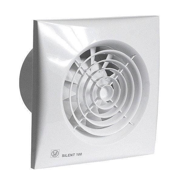 Осевой вытяжной вентилятор Soler&Palau SILENT-100 CRIZ *230V 50*, фото 1