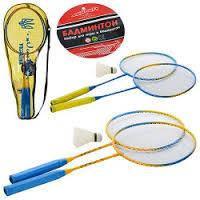 Активные игры бадминтон, теннис, плавание