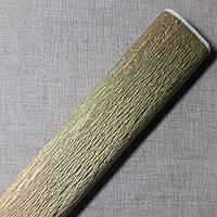 Гофрированная бумага золото Польша