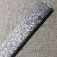 Гофрированная бумага серебро Польша