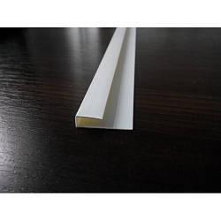 П-образный профиль белый и цветной для панелей ПВХ и вагонки 3м 5мм