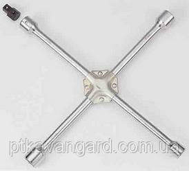 "Ключ крестообразный 17/19/21/22 мм, 1/2"" L=400мм King Tony 19911722"