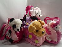 Мягкая игрушка | Животное в сумочке