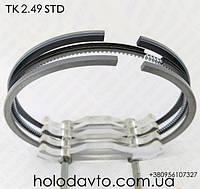 Кольца поршневые STD Янмар Yanmar 2.49 ; 11-8644