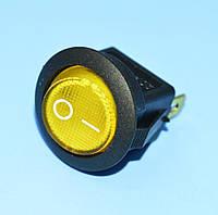 Выключатель  12В  IRS-101-8С желтый 1-группа ON-OFF  PRK0018Е