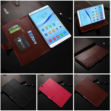 """Huawei MediaPad M3 8.4 оригинальный кожаный чехол кошелёк из натуральной телячьей кожи на телефон """"LUXON"""""""