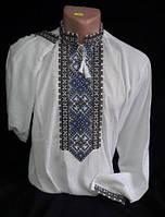 """Вышиванка мужская, """"Святодар"""" с длинным рукавом, домотканное полотно ,р-ры: 44-58, 580/610 грн."""