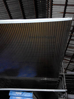 Поликарбонат сотовый 4мм бронза, с защитой от ультрафиолета