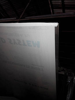 Поликарбонат сотовый 4мм прозрачный со склада в Днепропетровске