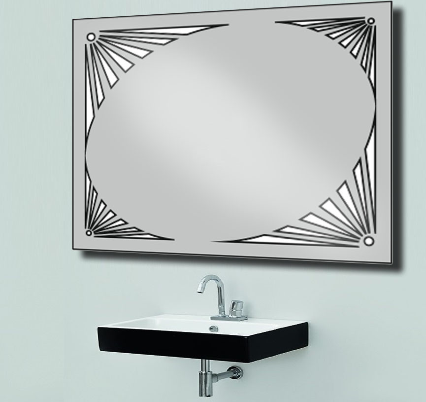 Зеркало со светодиодной подсветкой 900х700