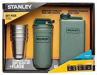 Посуда STANLEY Adventure Набор стопок 0,59ML+ Фляга 0,23L Зеленый 10-01883-002