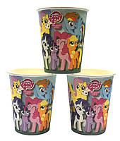 """Стаканчики """"Little Pony"""". Объём-250мл. В упак:10 шт."""