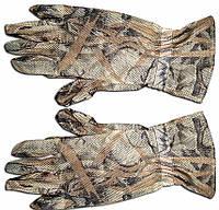 Маскировочные перчатки из сетки. Расцветка Камыш р. XL.