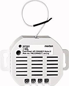 Радиоприемник с реле для скрытого монтажа — MER_507502