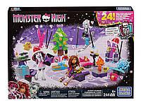 Конструктор Календарь новогодних событий Mega Bloks Monster High Advent Calendar