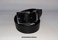 Ремень мужской LACOSTE F404 чёрный, фото 1