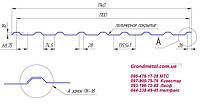 Профнастил  ПК-20, профлист  ПК-20, профнастил на крышу  ПК-20