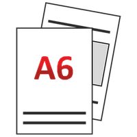 Флаер (листовка) А6 148 х 105 мм тиражами 500/1000/2500/5000/10000/20000