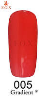 Гель-лак F.O.X  12 мл Gradient №005 (клубничный)