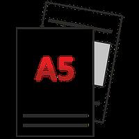 Флаер (листовка) А5 210 х 148 мм тиражами 500/1000/2500/5000/10000/20000