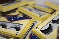 Ресницы накладные в желтых упаковках