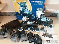 Коньки роликові HUDORA 37-40р.  Германія