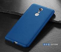Чехол Бампер MAKAVO для Xiaomi Redmi Note 4X  Матовый ультратонкий синий