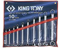 Набор ключей накидные 10шт. (6-32 мм) King Tony 1710MR