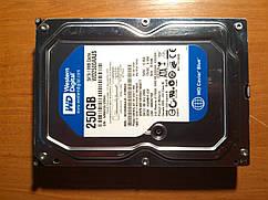HDD 250GB 7200rpm SATAII Різних виробників. Гарантія!