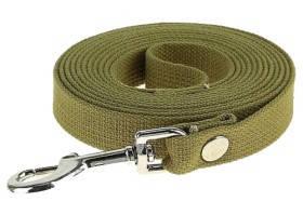 My Wuf Поводок для собак брезентовый, 20мм, 1,5м