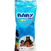 Стиральный порошок Baby Маша и медведь 2 в 1 для детской одежды 9 кг