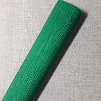 Гофрированная бумага зеленая Польша